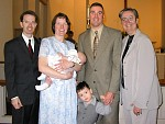 Duncan, family & godparents